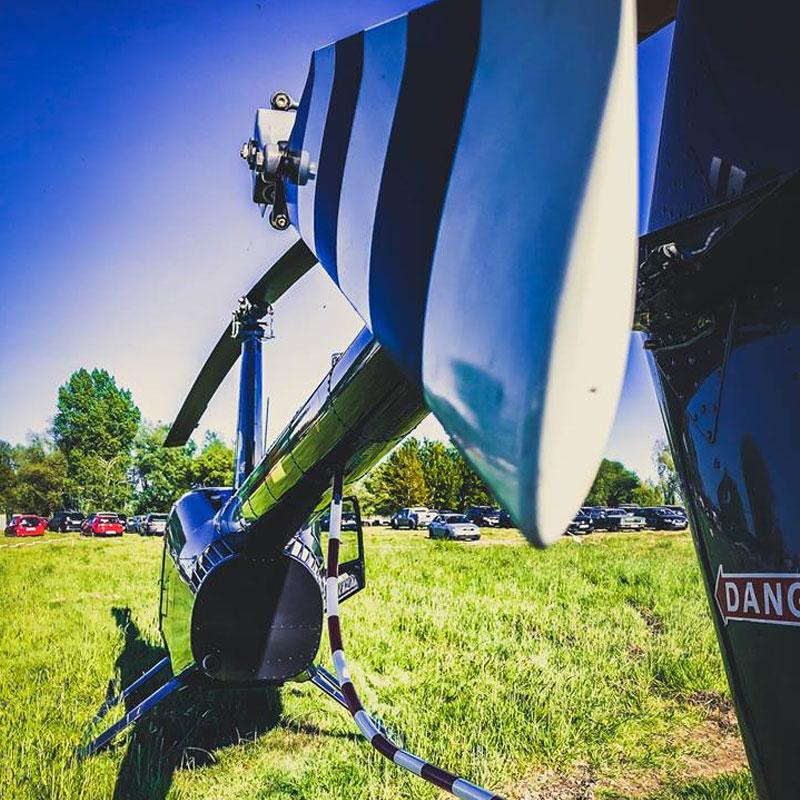 Hubschrauber Flugschule